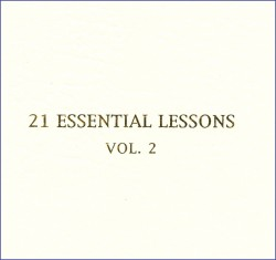 21 Essential Lessons Vol. 2