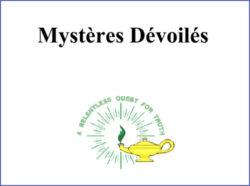 Mystères Dévoilés
