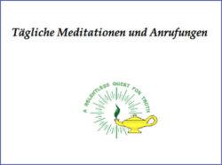 Tägliche Meditationen und Anrufungen