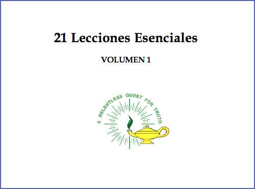 21 Lecciones Esenciales Volumen 1