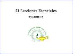 21 Lecciones Esenciales Volumen 3