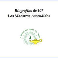 Biografías de 107 Maestros Ascendidos